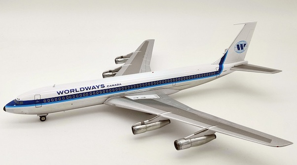 Boeing B707-300 Worldways Canada C-GGAB With Stand  IF7070918P