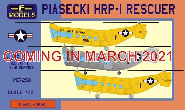 Piasecki HRP-1 Rescuer  (US Coast Guard)  (EXPECTED MARCH 2021  PE-7250