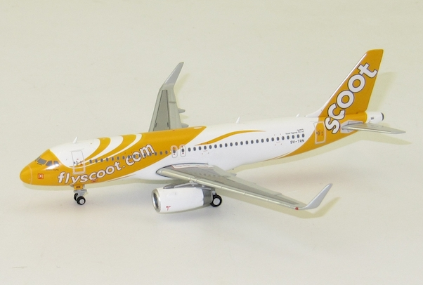 A320 (Scoot) 9V-TRN With Antenna  XX4722