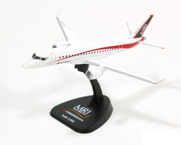 Mitsubishi Regional Jet MRJ 90 House color flight test No. 2 JAirbus A22MJ Made in plastic  259985