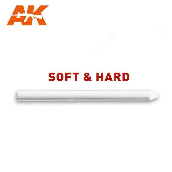 White chalk Lead detailing pencil (soft)  AK4178