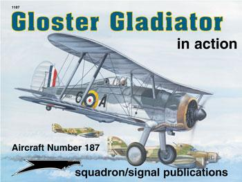 Gloster Gladiator in Action  089747450