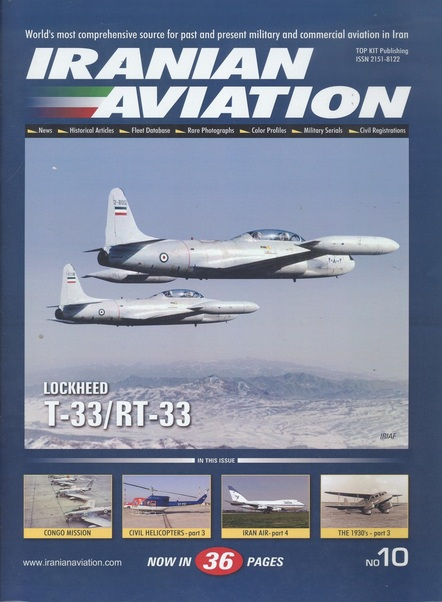Iranian Aviation Review issue 10  IAR-10