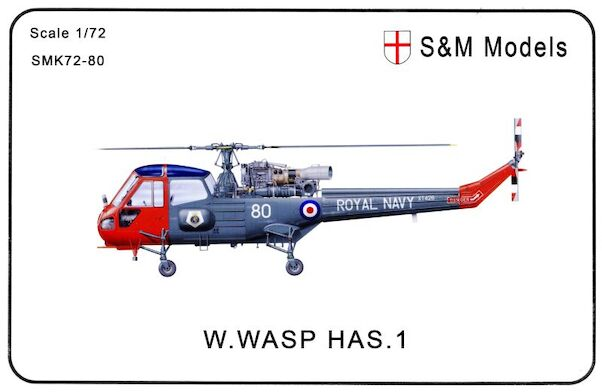 Westland Wasp HAS1 (Royal Navy) (Expected April 2020)  SMK72-80