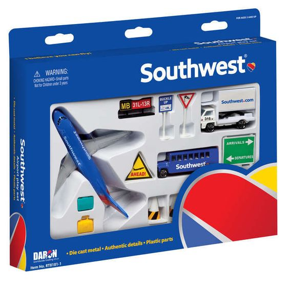 Airport Playset (Southwest Airlines)  RT8181-1