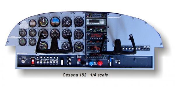 Cessna 182 Instrument Panel (Aero Team ppC182)
