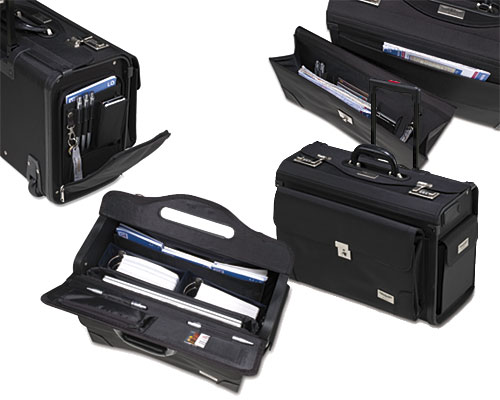 Pilot Case Airliner (with trolley function and detachable front bag)  DESIGN BAG4