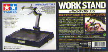 Work Stand with magnifying Glass  74064
