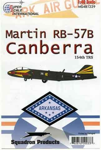 48-1229 Martin RB57B Canberra (154TRS)  48-1229