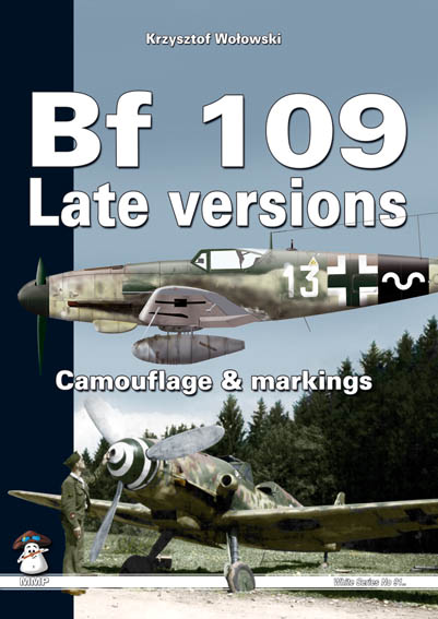 BF109 Late versions, Camouflage & markings (REPRINT)  9788361421139