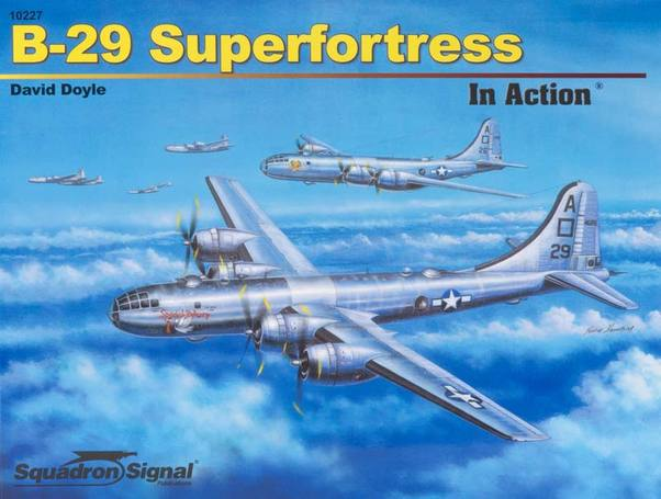 B29 Superfortress in Action (REISSUE)  9780897476492