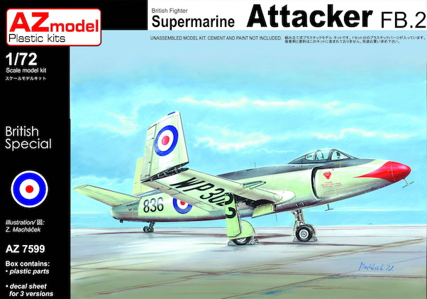 Supermarine Attacker FB.2  az7599