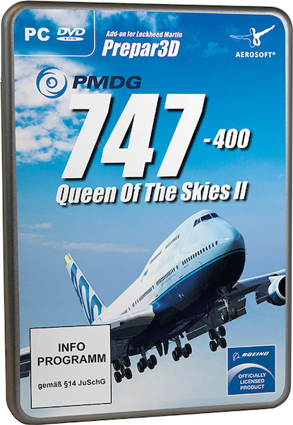 PMDG 747-400 V3 (Box version, Online activation required) (PMDG  4015918145756)