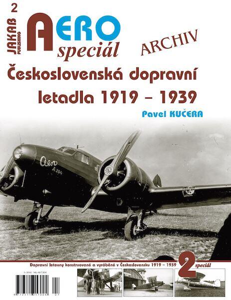 Aero Special Ceskoslovenská dopravní letadla 1919-1939 / Czechoslovak  transport aircraft 1919-1939 (Jiri Jakab 9788087350690)