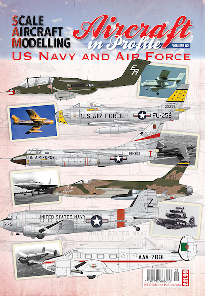 Aircraft in Profile vol 2- US Air Force and Marines  5010791888003