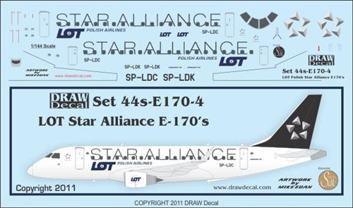 Embraer 170 (LOT Polish Airlines - Star Alliance)  44-E170-4