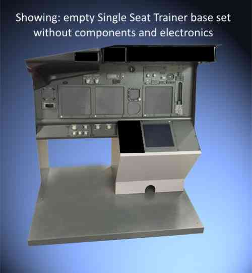 B737 Kit Single Seat Trainer base set.  SST737