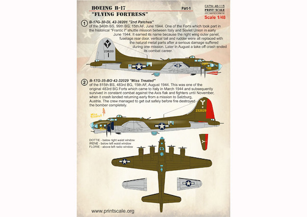 Boeing B17 Flying Fortress part 1  PRS48-115