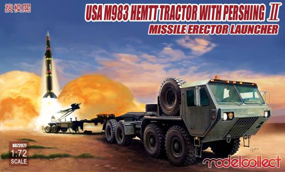 USA M983 HEMMT Tractor with Pershing II missile erector launcher  UA72077