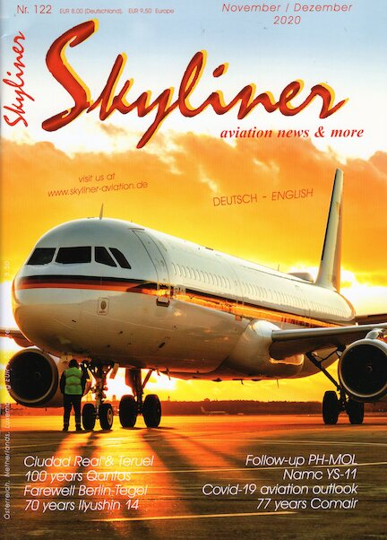 Skyliner, Aviation News & More Nr. 122 November/Dezember 2020  SKYLINER 122