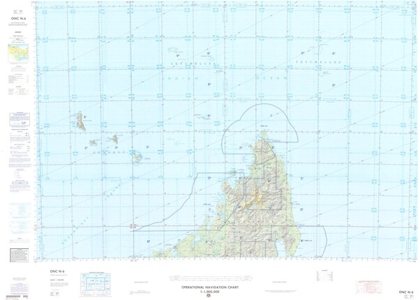 Onc N 6 Available Operational Navigation Chart For Madagascar
