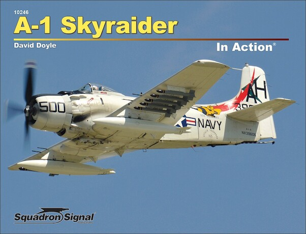 A1 Skyraider in Action  (REPRINT)  9780897478373
