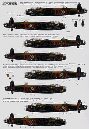 Ton-Up Avro Lancasters  X48074