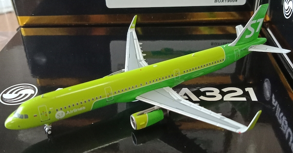 A321neo (S7 Airlines) VQ-BDU  BOX19004