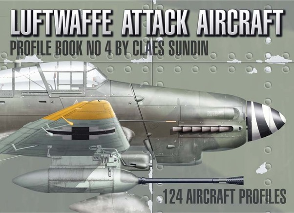 Luftwaffe Attack Aircraft Profile Book number 4  9789198244304