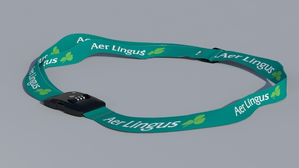 Luggage strap with TSA lock - Aer Lingus  LUG-EI