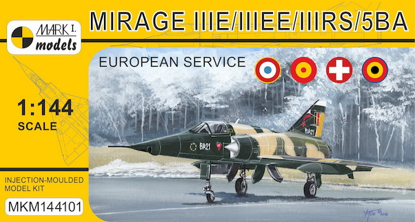 Mirage IIIE/EE/RS/5BA 'In Europe' (French, Spanish, Swiss & Belgian AF)  MKM144101