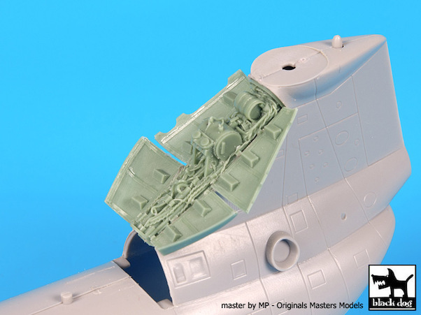 CH46D Sea Knight  rear engine (Hobby Boss)  A72068
