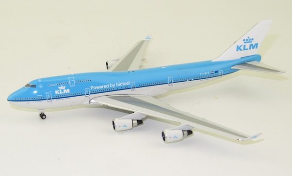 Boeing 747-400 KLM  PH-BFK Powered by biofuel  11622