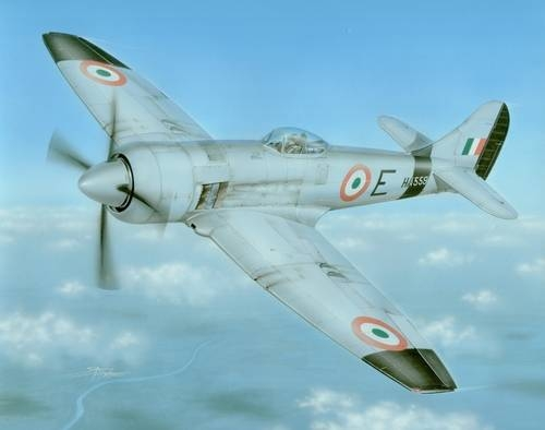 Hawker  Tempest MKII (Indian & Pakistani AF)  sh72181