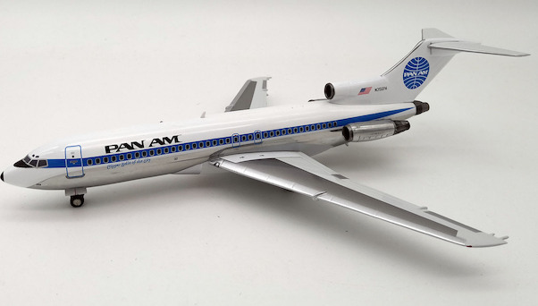B727-100 (Pan Am) N356PA With Stand LIMITED 120 MODELS  IF721PA01