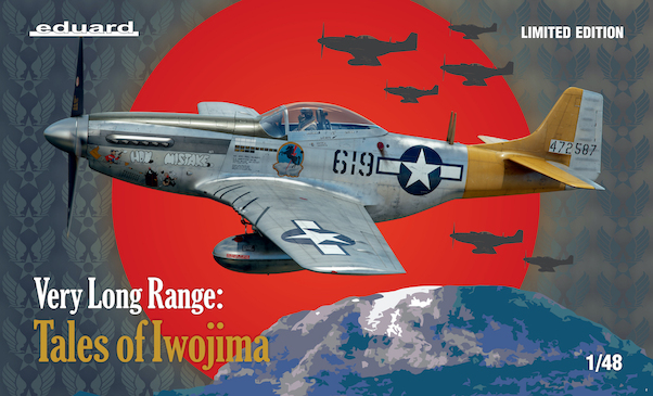 P51D Mustang, very long range, Tales of Iwo Jima  11142