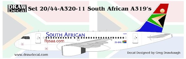 A319 (South African)  44-A3n-11