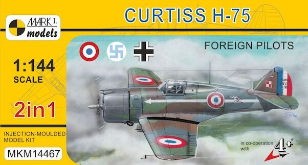 Curtiss H-75 'Foreign Pilots' (2 kits included)  MKM14467