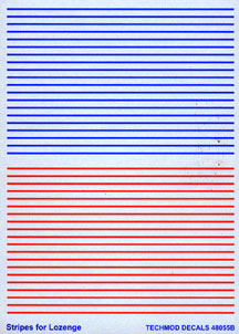 Stripes for Lozenge  48055