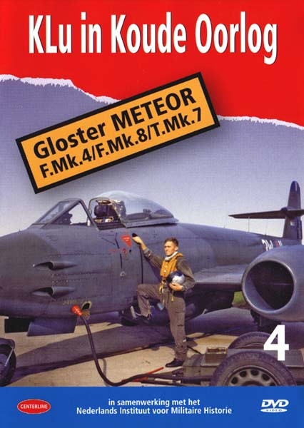 Klu in Koude Oorlog vol.4: Gloster Meteor F4/T7/F8  (DOWNLOAD version)  KLU04-D
