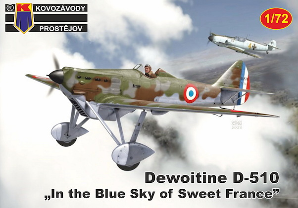 Dewoitine D510 'In the blue sky of sweet France'  KPM72179