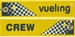 Keyholder with Vueling on one side and (Vueling) crew on other side