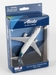 Single Plane for Airport Playset (Boeing B737 Alaska Airlines)