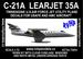 C-21A Learjet 35A (USAFE, AMC) - Reissue!