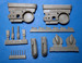 Reggiane Re2002 Arriete Wheel Wells, landing gear legs and covers (Italeri)