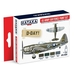 US Army Air Force paint set (4 colours)