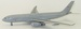 Airbus A330-200 Voyager KC3 RAF ZZ336 With Stand LIMITED 60 MODELS