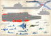 Russian Carrier Admiral Kutznetsov deck markings