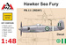Hawker Sea Fury FB MK60 (Royal Egypt AF)