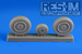 Mikoyan MiG21wheel set -Late-
